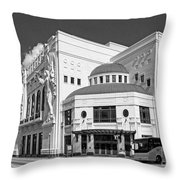Bass Hall 5480mbwx Throw Pillow