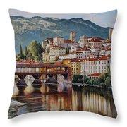 Bassano Del Grappa Throw Pillow