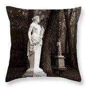 Bassin D'apollon, Versailles Throw Pillow