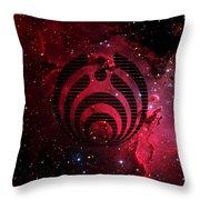 Bassnectar Galaxy Nebula Throw Pillow