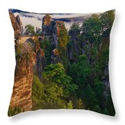 Bastei Throw Pillow
