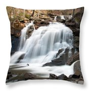 Bastion Falls In April Throw Pillow
