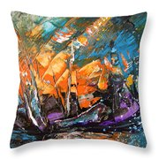 Bataille Navale Throw Pillow