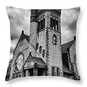 Batavia Baptist Church 2161 Throw Pillow