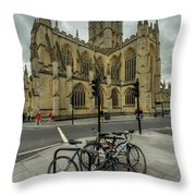 Bath Abbey 2.0 Throw Pillow