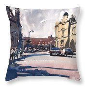 Bath Cathedral Throw Pillow