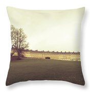 Bath Royal Crescent Throw Pillow