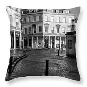 Bath Spa Throw Pillow by Trevor Wintle