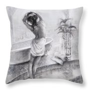 Bathed In Light Throw Pillow