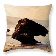 Bathsheba Rocks Throw Pillow