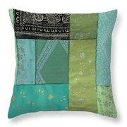 Batik Sky Throw Pillow