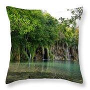 Batinovac Falls Throw Pillow