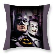 Batman 1989 Throw Pillow