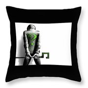 Batman Arkham City Throw Pillow