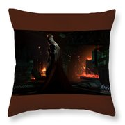 Batman Arkham Origins Throw Pillow