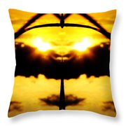 Batmen Throw Pillow
