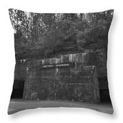 Battery Dearborn Throw Pillow
