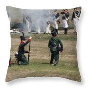Battle 1 Throw Pillow