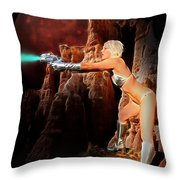 Battle Beyond The Stars Throw Pillow