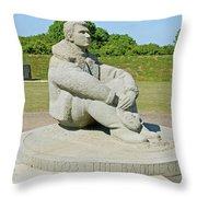 Battle Of Britain Memorial Throw Pillow