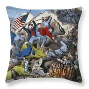 Battle Of Chattanooga 1863 Throw Pillow