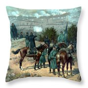 Battle Of Chattanooga Throw Pillow