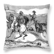 Battle Of Lundys Lane Throw Pillow