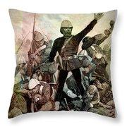 Battle Of Majuba Mountain  Throw Pillow