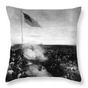 Battle Of New Orleans Throw Pillow