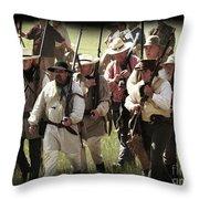 Battle Of San Jacinto Throw Pillow