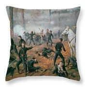 Battle Of Shiloh Throw Pillow
