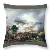 Battle Of Somo Sierra Throw Pillow