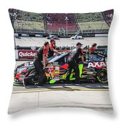 Battle Walk Throw Pillow