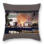 Battlefield Hardline Throw Pillow