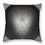 Battlefield Within Throw Pillow
