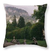 Bavaria Beauty Throw Pillow