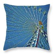 Bavarian Fairy Wheel Throw Pillow