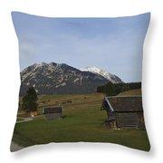 Bavarian Valley Throw Pillow