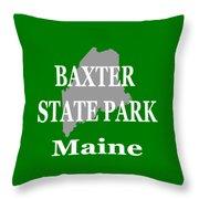 Baxter State Park Pride Throw Pillow