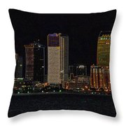 Bay City Throw Pillow