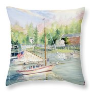 Bay Lady  Throw Pillow