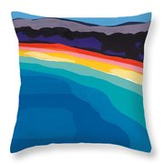 Bay Of Angels Throw Pillow