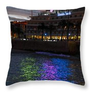 Bay Of Cascais, Portugal Throw Pillow