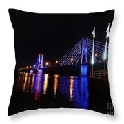 Bay View Flags Throw Pillow