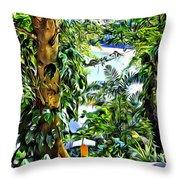 Bay View Tobago Throw Pillow