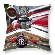 Bayliss Thomas Badge And Hood Ornament Throw Pillow