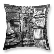 Bayon IIi Throw Pillow
