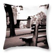 Bayonne New Jersey Throw Pillow