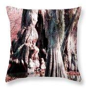 Bayou Character Throw Pillow