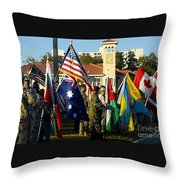 Bayshore Patriots Throw Pillow